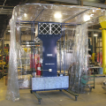 Portable Booth in Industrial Setting