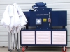 Portable 0n-site paint spray booth package