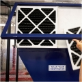 Quick and easy filter replacement. Adjustable filter racks let you customize filter use.
