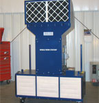 Portable Air Filtration Unit without curtain system