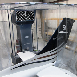 Portable Aviation Paint Booth